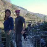 La nostra guida Fabio con Daniela